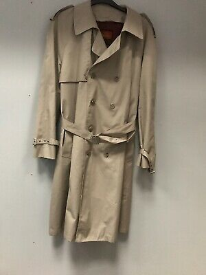 Moores Man's  Trench Coat Large