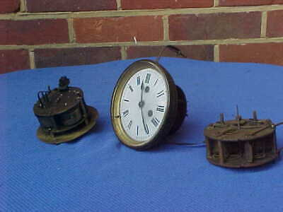 3 x  VICTORIAN CLOCK MOVEMENTS : JAPY FRERES MARTI