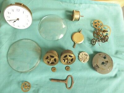 Job Lot Of Clock Spares, See Listing.