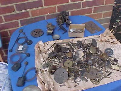 Job Lot Vintage Clocks & Clock  Watch Parts