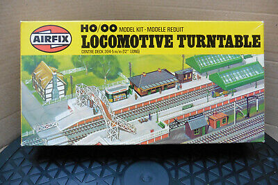 Vintage 1978 Airfix Ho/Oo Locomotive Turntable Un-Built Kit Model Railway