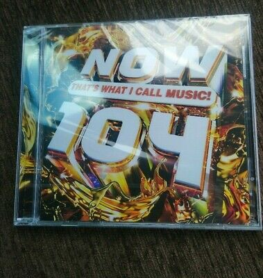 Now Thats What I Call Music: 104 (CD) 2019 ** BRAND NEW/ FACTORY SEALED **