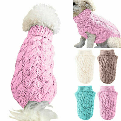 Pet Small Dog Knitted Jumper Knitwear Chihuahua Clothes Pet Puppy Sweater