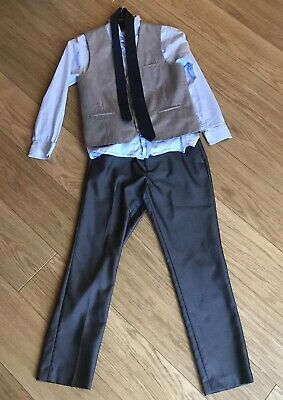 boys next signature suit Waistcoat, Shirt, Tie And Trousers Age 11