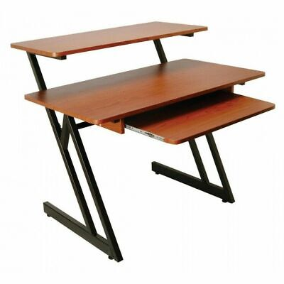 MUSP-WS7500RB-WS7500 Series Wood Workstation (Rosewood/Black Steel)
