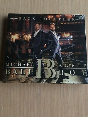 Back Together Alfie Boe Michael Ball SIGNED NEW