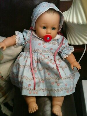 "17"" soft bodied baby doll in beautiful little outfit...with enhancements"