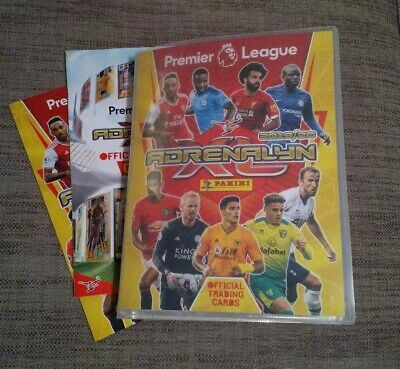 Panini Adrenalyn XL Premier League 2019/20 , Near Complete , 30 limited editions