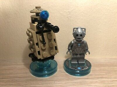 Lego Dimensions Dr Who Cyberman Fun Pack (71238) 100% Complete!!