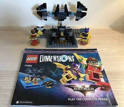 LEGO Dimensions The Lego Batman Movie Story Pack (71264) 100% Complete + Manual!