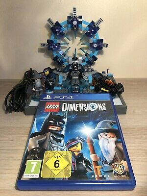 Lego Dimensions PS4 Starter Pack (71171) 100% Complete!!