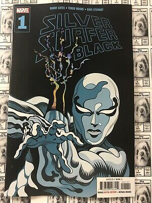 2019 1st Print Cover A NM B164 Silver Surfer Black #1