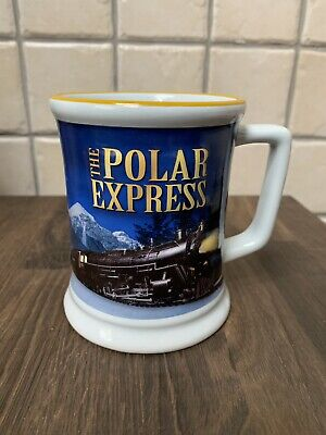 The Polar Express Warner Bros large Mug Christmas Believe Cup  X 4 Boxed