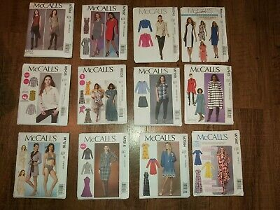 McCall's #5 Ladies  Sewing Patterns Various Styles & Sizes YOU PICK