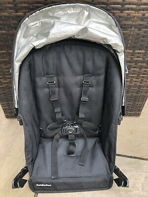 Uppababy Vista Rumble Seat Unit 2010-2014 Hood & Harness Black