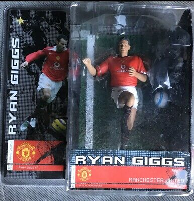 Vintage In Box Ryan Giggs Football Figure Playwell Offical Merchandise Christmas
