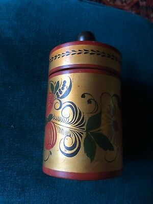ussr canister container and lid used