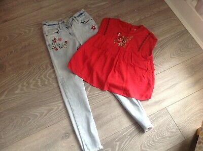 Girls Next Jeans And Top Outfit Age 10-11 For Your Little Darlings