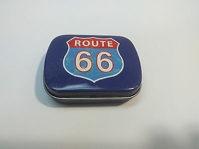 Route 66_U.S.66 _American Vintage Style_Tin jewelry box_NEW!!