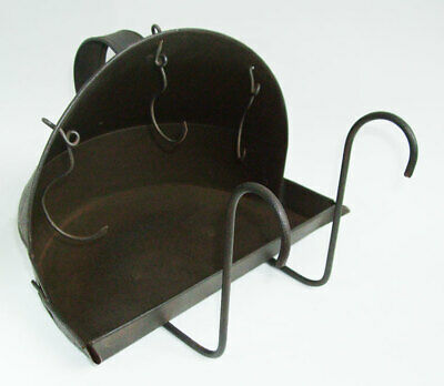 Charming Handmade Antique Fireplace / Kitchen Range Spit Roaster Reflector Oven