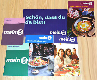 Weight Watchers StarterSet 4tl Mein WW Kickstart Guide SmartPoints Programm 2020