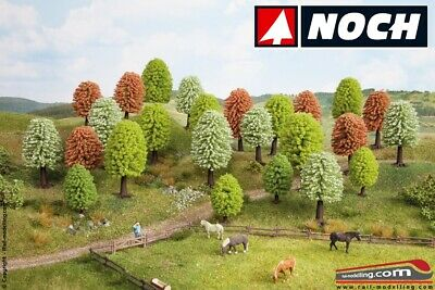 Noch 26806 - Trees Spring 25 Pieces Height 5 & 9 CM