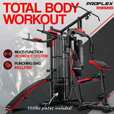 【20%OFF】PROFLEX Home Gym Exercise Machine Fitness Equipment Weight