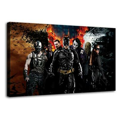 """12""""x20""""Super hero HD Canvas prints Painting Home Decor Picture Room Wall art"""