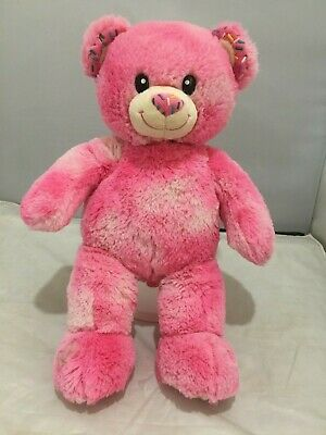 Pink Sprinkles Donuts Cute Cuddly Rare Limited Edition Soft Build A Bear