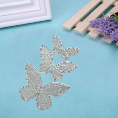 DIY Butterfly Metal Cutting Dies Stencil Scrapbooking Paper Card Decor Embossing