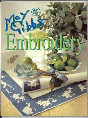 Delightful Australian Craft Book - May Gibbs Embroidery