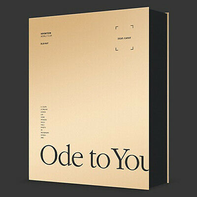 SEVENTEEN WORLD TOUR [ODE TO YOU] IN SEOUL BLU-RAY 3 DISC+Book+3 Card+Frame+GIFT
