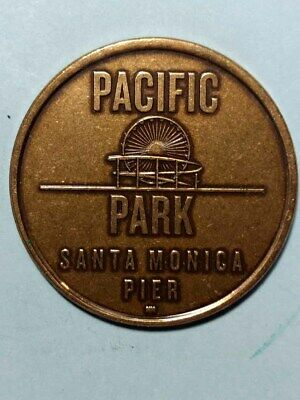 Pacific Park, Santa Monica Pier OFF CENTER Token/Medal