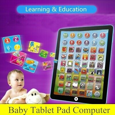 Baby Tablet Educational Toys Girls Toy For 1-2 Year Old Toddler Learning English