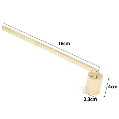 Long Handle Accessories Stainless Steel Candle Snuffer Home Straight Tube Shape