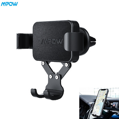 Mpow Universal Gravity Car Mount Air Vent Holder Stand For Cell Phone GPS iPhone