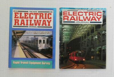 2 Copies of THE NEW ELECTRIC RAILWAY JOURNAL Magazine  Issue 38 & Spring 1997