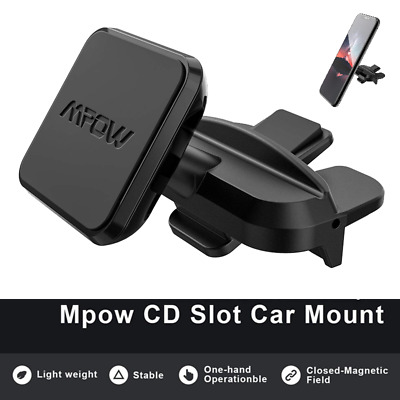 Mpow CD Slot Mobile Phone Holder Universal Car Mount GPS For iPhone 8 11 X XS XR