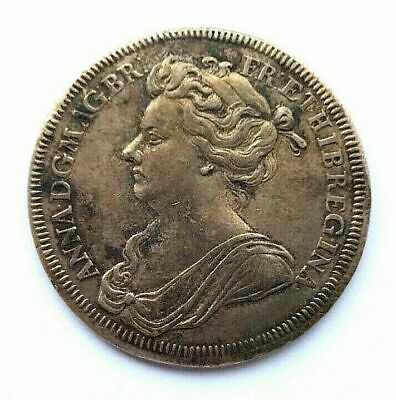 Queen Anne Coronation Medal, 1702. J. Croker.starting Price 11.99 No Reserve.