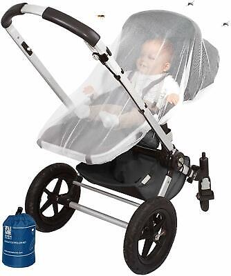 EVEN NATURALS Baby Mosquito Net, Bug Net for Stroller, Infant Carrier, Car