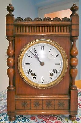 W&H Walnut Striking Bracket Clock in Working Order