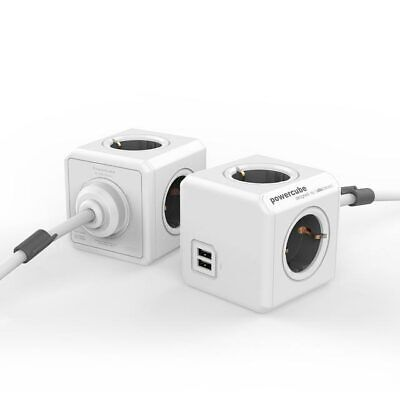 PowerCube Extended USB 3 metre. Charge multiple devices at once Only 1 left. NEW