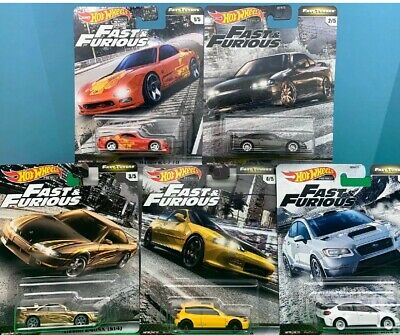 Hot Wheels FAST & FURIOUS 2020 * PRE-ORDER * FAST TUNERS SET OF 5 Release F JAN.
