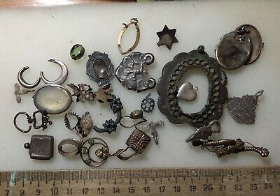 job lot women's silver decorations of the  Viking  Age