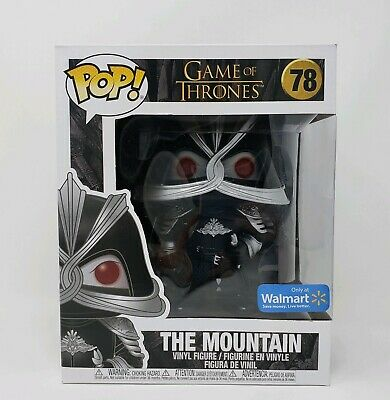 Funko POP! Game of Thrones - The Mountain 6inch (Walmart Exclusive) + Protector
