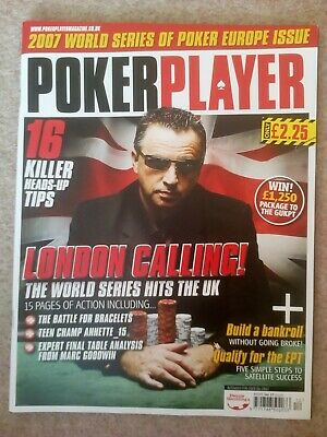 Poker Player Magazine - Issue 27 - WSOPE 2007 Special