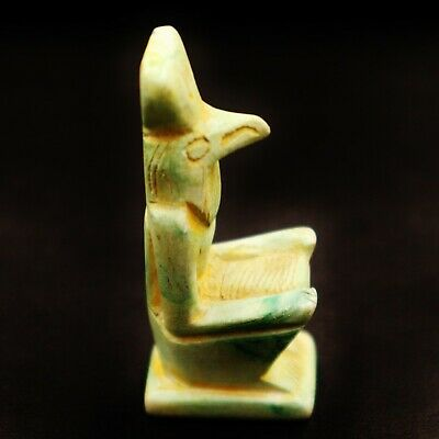 RARE Ancient Egyptian Antique Stone Statue Figure of Falcon GOD Horus