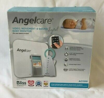 Angelcare AC1100 Digital Video Movement and Sound Baby Monitor