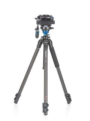 Benro C2573FS6 Video Carbon Fibre Tripod Kit with S6 Head & Carry Case