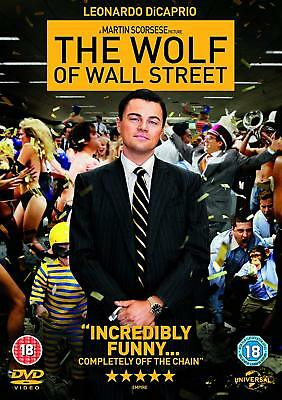 The Wolf Of Wall Street (DVD) Leonardo DiCaprio c/o Martin Scorcese NEW/SEALED